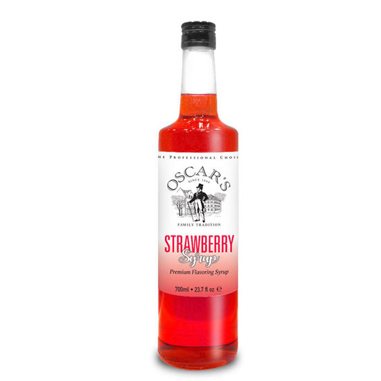 Picture of STRAWBERRY SYRUP 700ml OSCAR