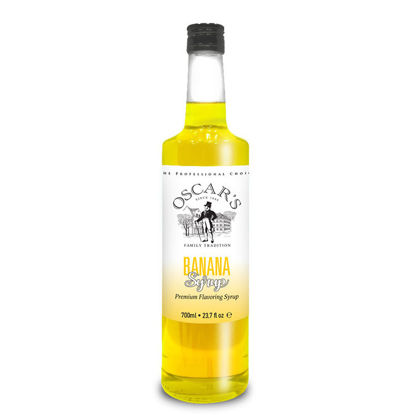 Picture of BANANA SYRUP 700ml OSCAR