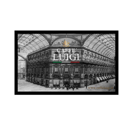 Picture of FRAMED POSTER GRAVURE CAFFE' LUIGI