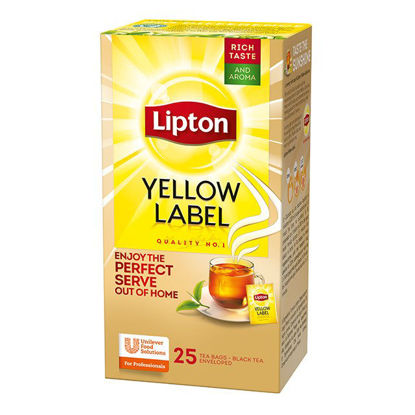 Picture of Lipton Tea Yellow Label (25 tea bags)