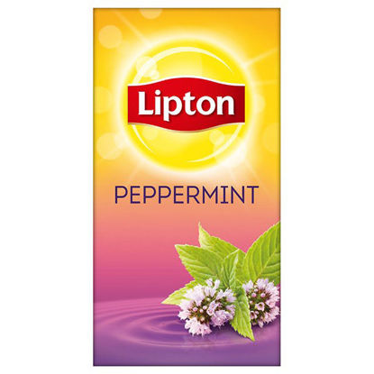 Picture of LIPTON BLACK TEA MINT (25 TEA BAGS)