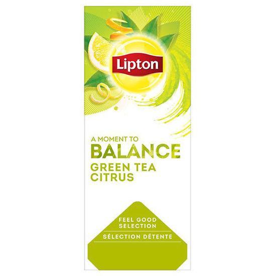 Εικόνα της Lipton Τσάι Πράσινο με Εσπεριδοειδή (25 φακελάκια)