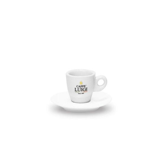 Picture of WHITE ESPRESSO CUP CAFFE' LUIGI