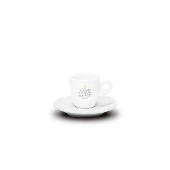 Picture of WHITE ESPRESSO SAUCER CAFFE' LUIGI
